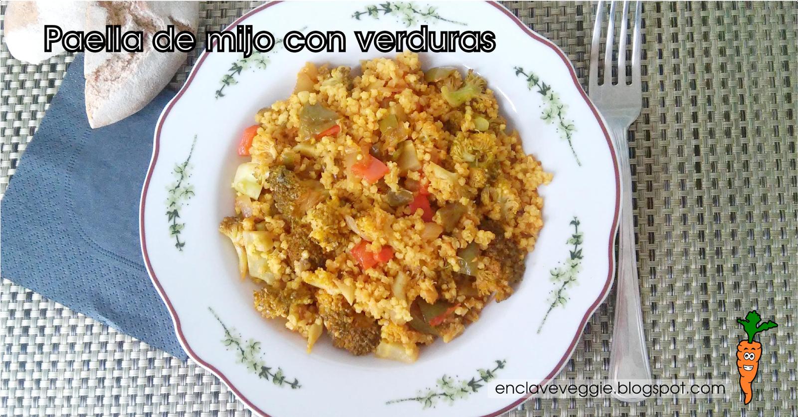 Paella Mijo Verduras