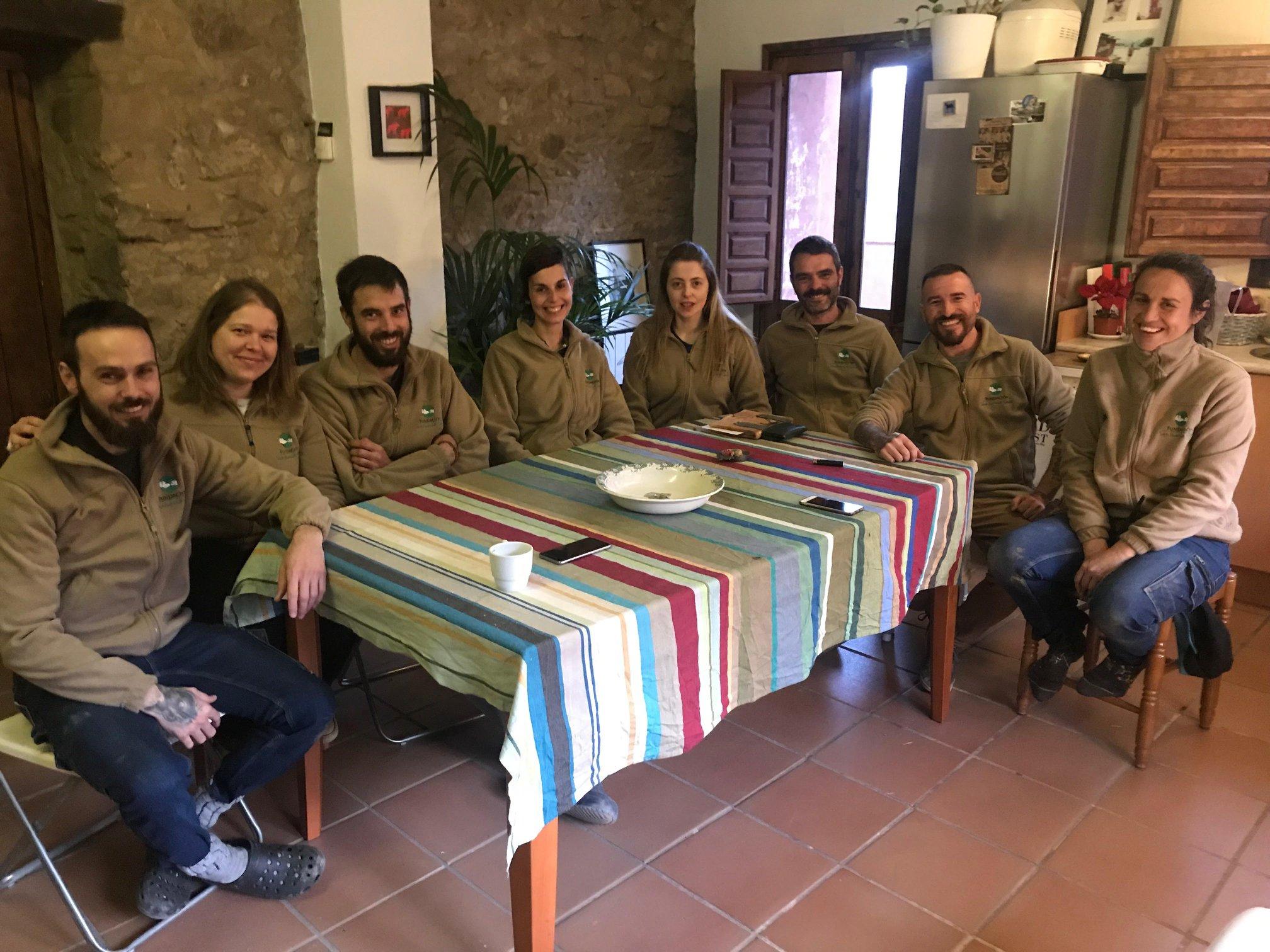 equipo gaia voluntariados trabajadores