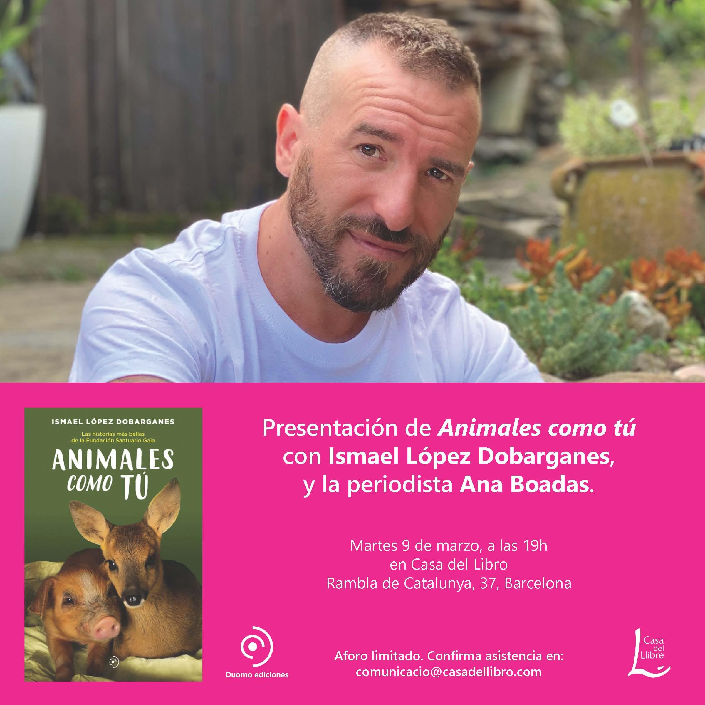 Presentación Animales como tú casa del libro